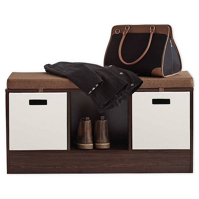 Alternate image 1 for ORG 3-Cube Storage Bench