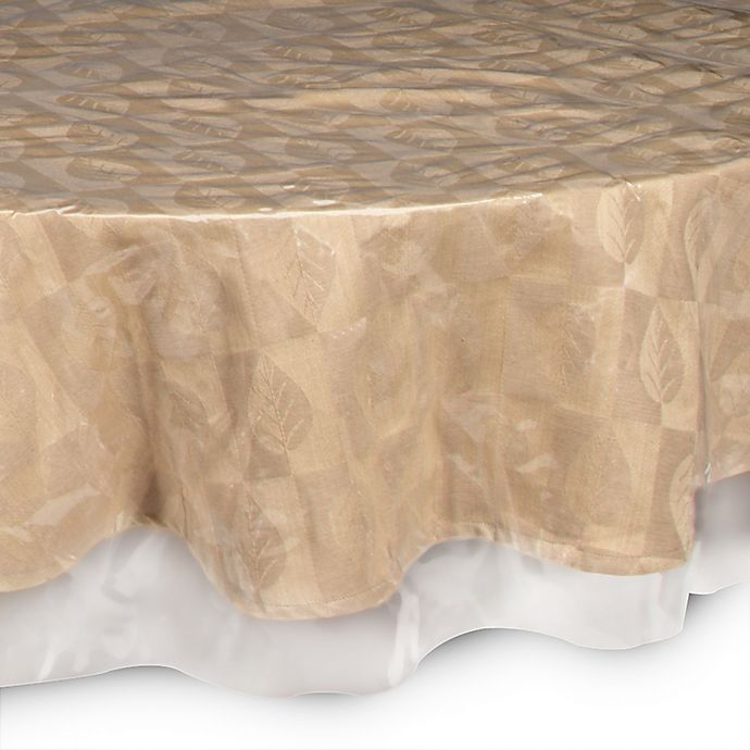 Alternate image 1 for SALT™ Crystal Clear 70-Inch Round Tablecloth Protector