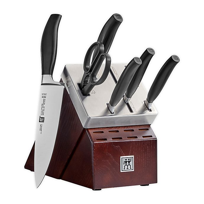 Alternate image 1 for Zwilling® J.A. Henckels Five Star 7-Piece Self-Sharpening Knife Block Set