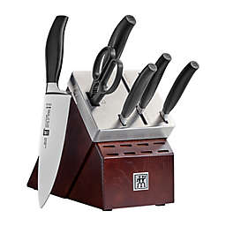 Zwilling® J.A. Henckels Five Star 7-Piece Self-Sharpening Knife Block Set