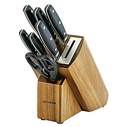 Anolon® AlwaysSharp 8-Piece Knife Block Set