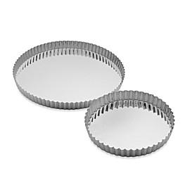 Gobel Tinned Steel Round Quiche Pan
