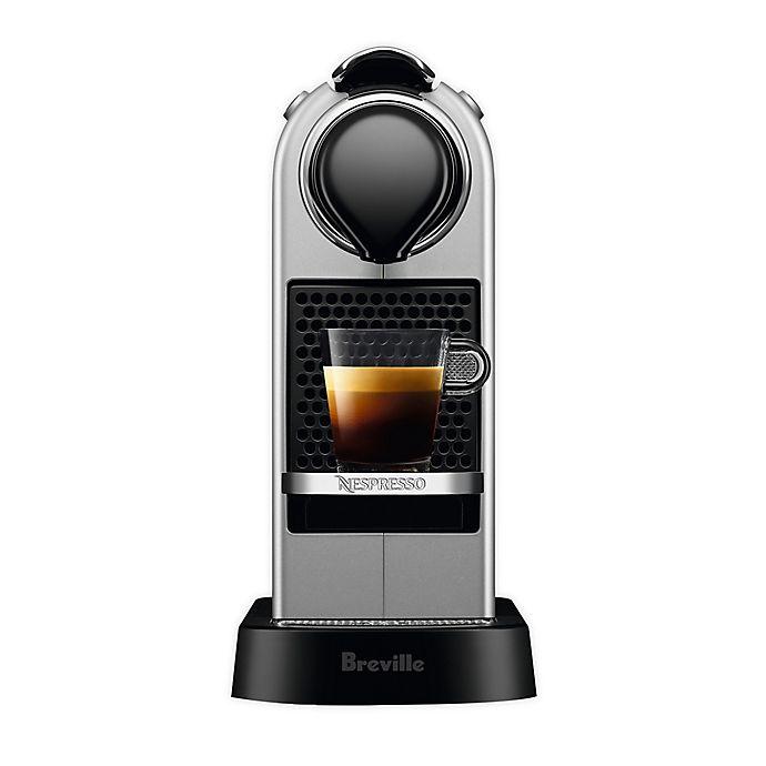 Alternate image 1 for Nespresso® CitiZ by Breville Espresso Maker in Silver