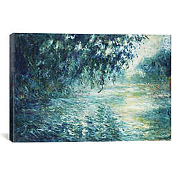 iCanvas Claude Monet Morning on the Seine, near Giverny Canvas Wall Art