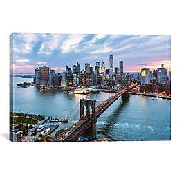 iCanvas Matteo Colombo Majestic Lower Manhattan Skyline Canvas Wall Art