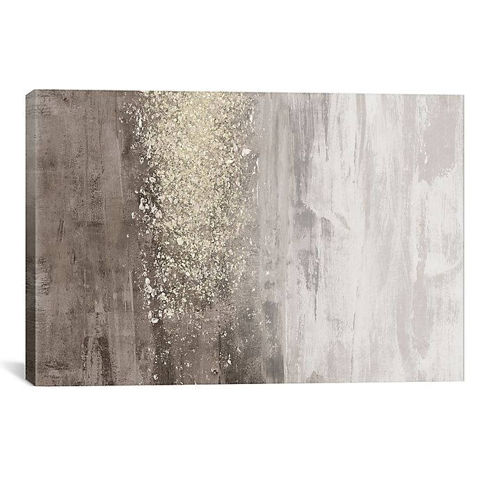 Icanvas Jennifer Goldberger Glitter Rain Ii Canvas Wall Art Bed Bath Beyond