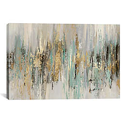 iCanvas Tom Reeves Dripping Gold Canvas Wall Art