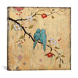 iCanvas Katy Francis Love Birds II Canvas Wall Art