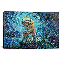 iCanvas Labrador Jazz Canvas Wall Art