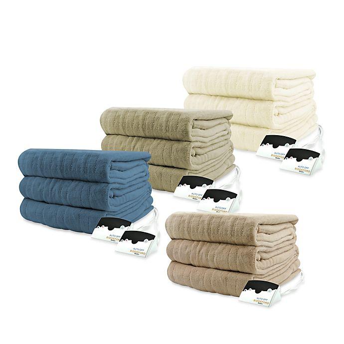 Biddeford Blankets Micro Plush Heated Blanket Bed Bath Beyond