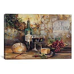 iCanvas Le Chateau Canvas Wall Art