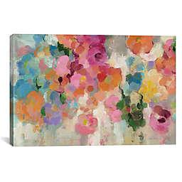 iCanvas Colorful Garden I Canvas Wall Art