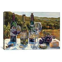 iCanvas Marilyn Hageman A Wine Tasting Canvas Wall Art