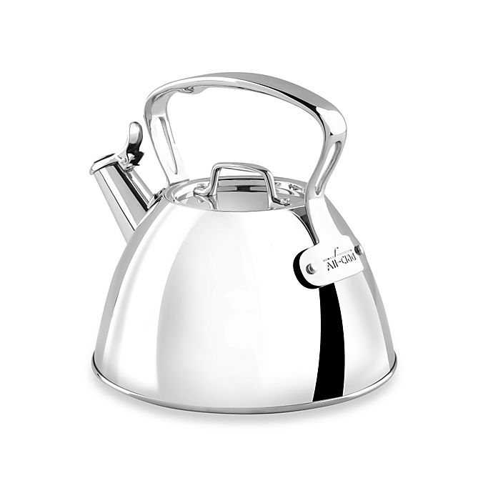 Alternate image 1 for All-Clad 2-Quart Stainless Steel Tea Kettle