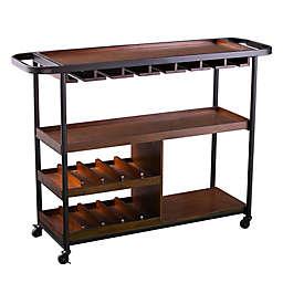 Southern Enterprises Tonsley Rolling Wine Cart