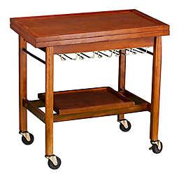 Karymore Adjustable Kitchen Cart with Storage