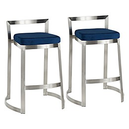LumiSource® Fuji DLX Counter Stools (Set of 2)