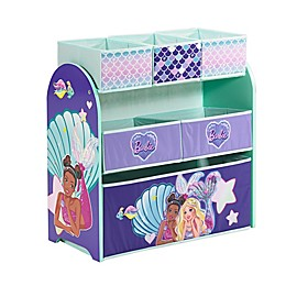 Barbie™ Mermaid Multi-Bin Toy Organizer