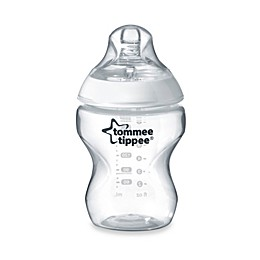 Tommee Tippee Closer to Nature 9 oz. Clear Baby Bottle