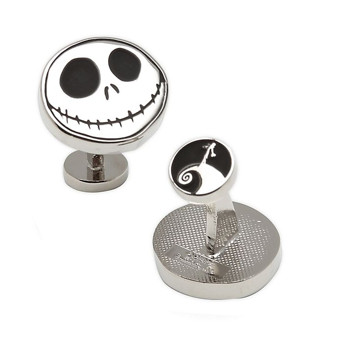 Alternate image 1 for Disney® Nightmare Before Christmas Silver-Plated Cufflinks