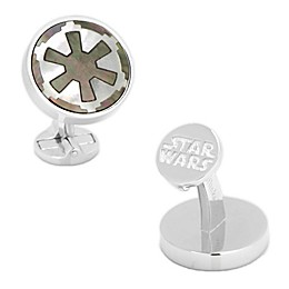 Star Wars™ Sterling Imperial Mother Of Pearl Cufflinks