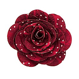 Star Wars™ Millennium Falcon Dot Blossom Lapel Flower in Maroon