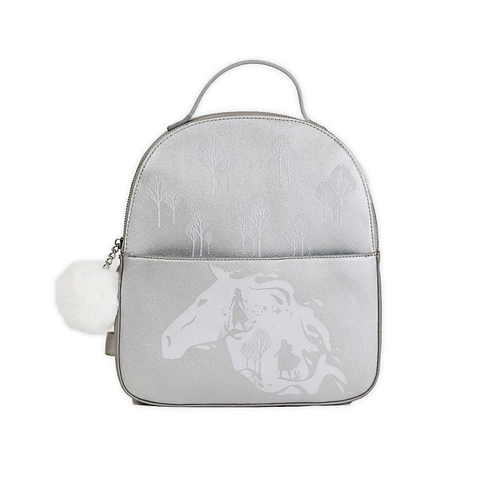 Alternate image 1 for Disney® Danielle Nicole Frozen 2 Backpack in Silver