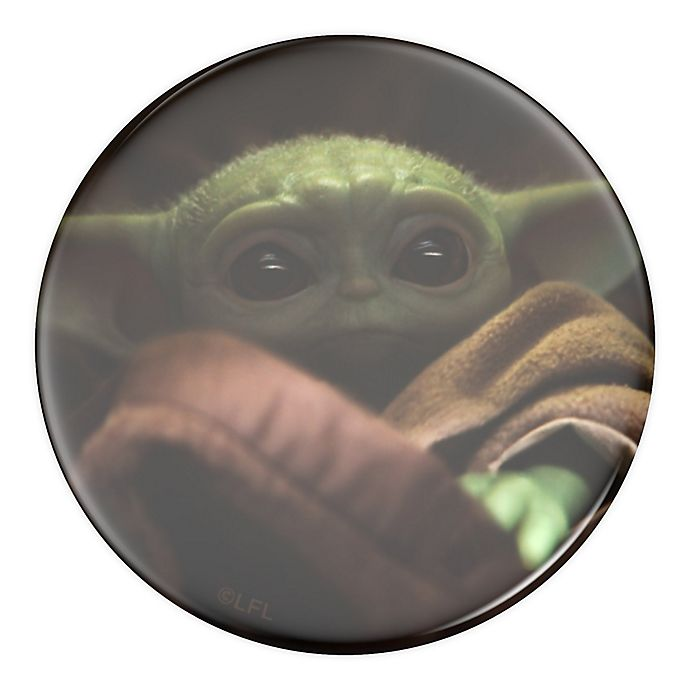 Alternate image 1 for PopSockets® Star Wars™ Baby Yoda Swappable PopGrip Phone Grip and Stand