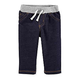 carter's® Pull-On Knit Denim Pant