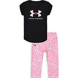 Under Armour® 2-Piece Trace Big Logo Shirt and Legging Set