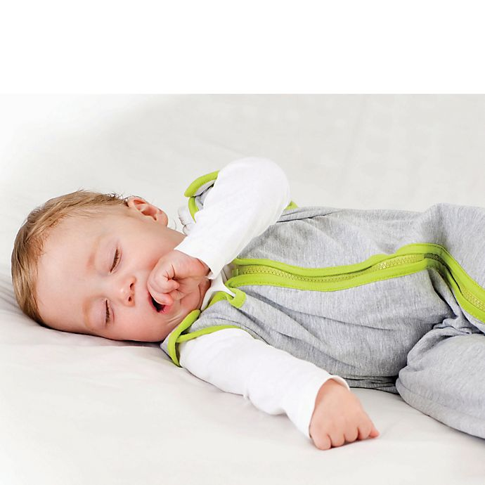 Alternate image 1 for Baby Deedee® Sleep Nest® Lite Size 18-36 Months in Heather Grey Lime