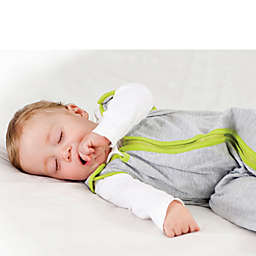 Baby Deedee® Sleep Nest® Lite Size 0-6 Months in Heather Grey Lime