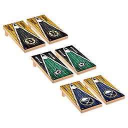 NHL Weathered Triangle Pattern Cornhole Set Collection