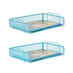 Mind Reader 2-Tier Stackable File Tray