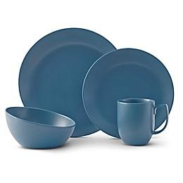 Nambe Orbit Dinnerware Collection in Aurora Blue