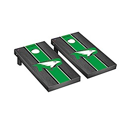 Collegiate Onyx Stained Stripe Cornhole Set Collection