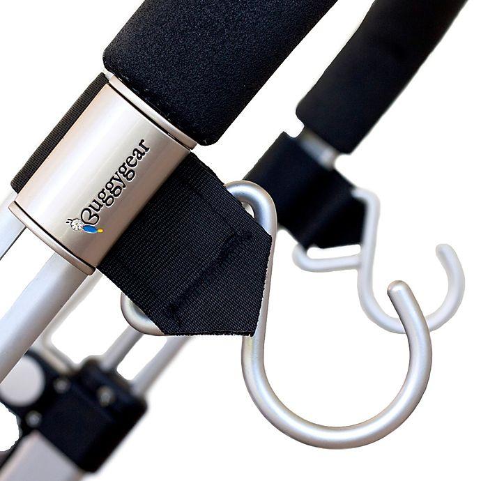 Alternate image 1 for Buggygear™ 2-Pack Boutique Stroller Hook in Black