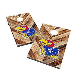 University of Kansas Cornhole Bag Toss Set