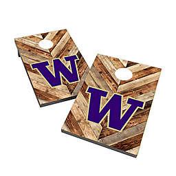 University of Washington Cornhole Bag Toss Set