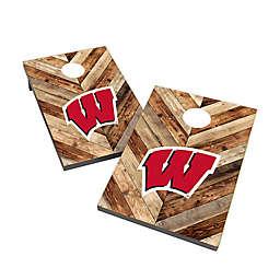 University of Wisconsin Cornhole Bag Toss Set