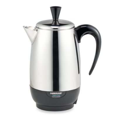 Farberware 8 Cup Stainless Steel Percolator Bed Bath Beyond