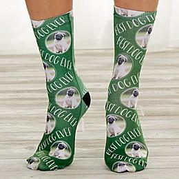 Personalized Dog Photo Socks