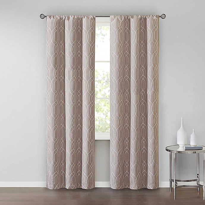 Alternate image 1 for SALT™Clancy 2-Pack Rod Pocket Window Curtain Panels
