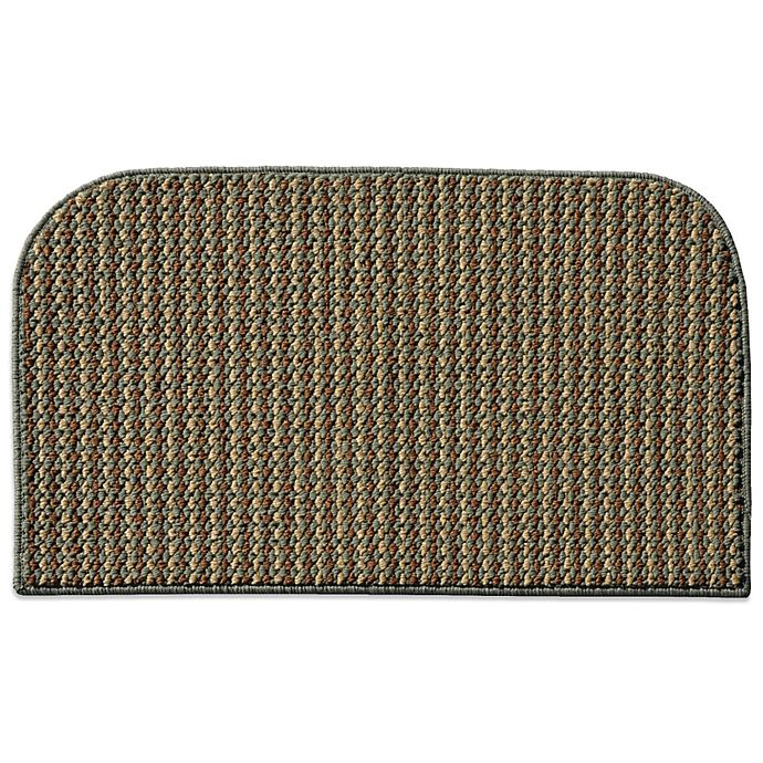 Alternate image 1 for Garland Berber Colorations 18-Inch x 30-Inch Kitchen Rug in Green