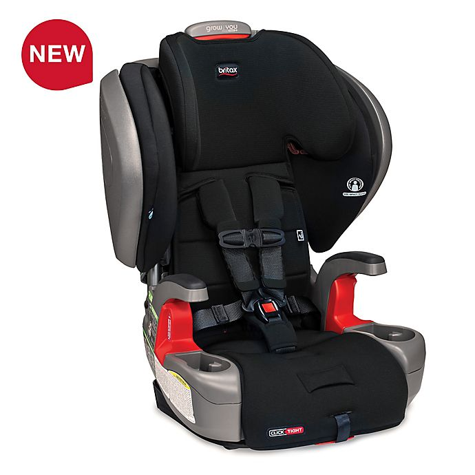 Alternate image 1 for Britax® Grow With You™ ClickTight Plus SafeWash Harness-2-Booster Seat in Jet