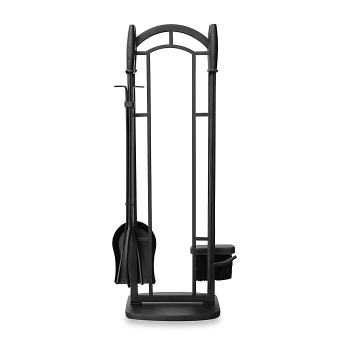Alternate image 1 for UniFlame® 5-Piece Fireplace Tool Set in Black