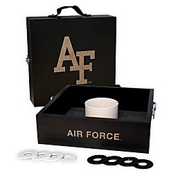United States Air Force Academy Washer Toss Game Set in Onyx