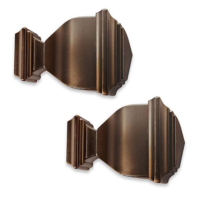 Alternate image 1 for Cambria® Premier Complete Napoleon Finials in Oil Rubbed Bronze (Set of 2)