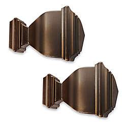 Cambria® Premier Complete Napoleon Finials in Oil Rubbed Bronze (Set of 2)