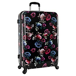 Vince Camuto® Maybel Rose Carnation ardside Spinner Checked Luggage